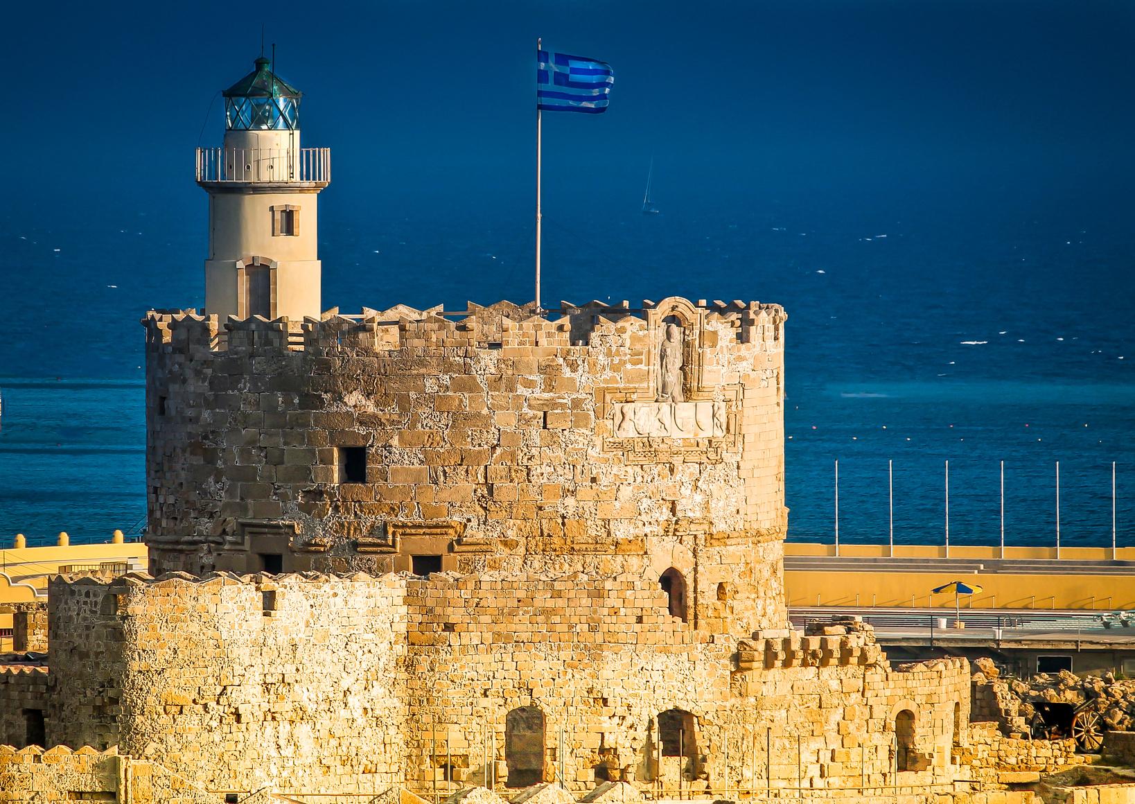 Sankt Nikolaus Festung auf Rhodos