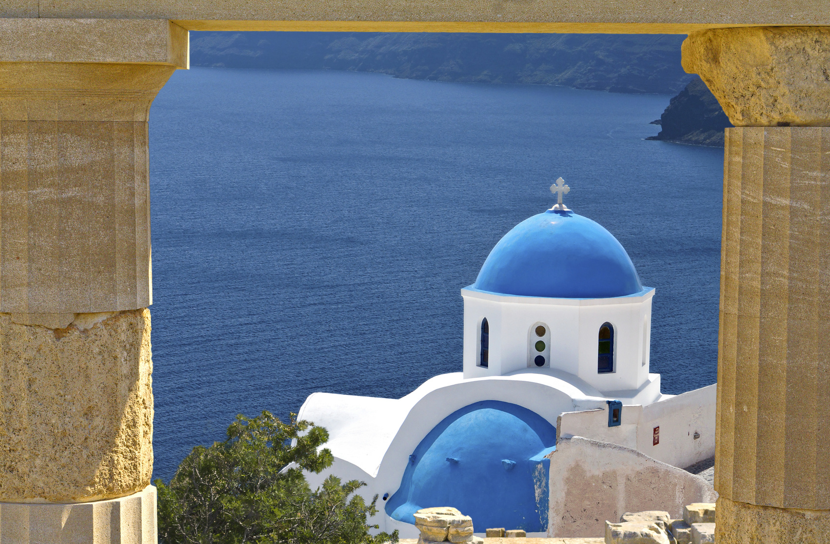 Santorin - Inselgruppe in Griechenland