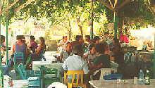 Taverne an der Ostküste von Rhodos